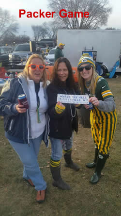 At Packer game