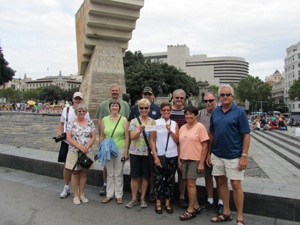 Group in Barcelona