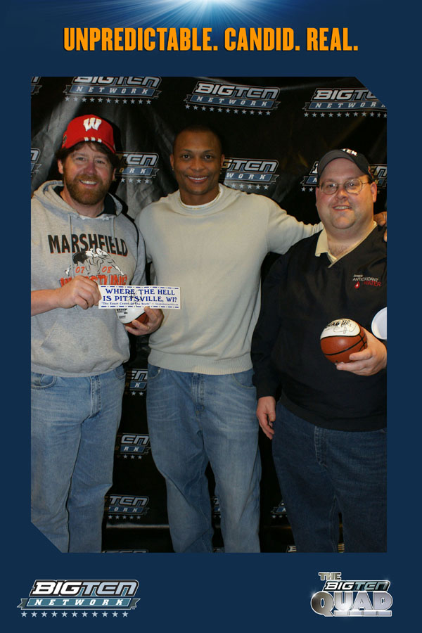 With Eddie George
