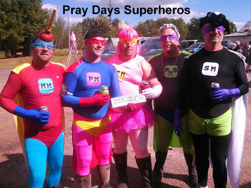Pray Days superheros