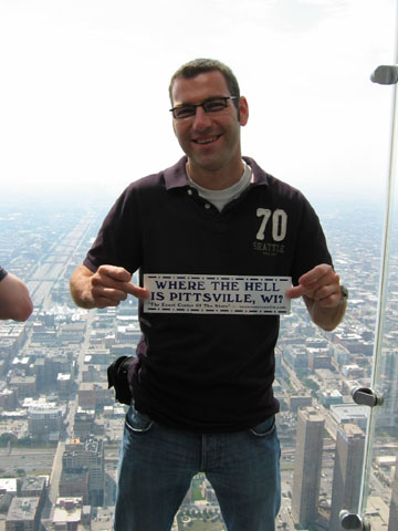 Olli in Sears Tower