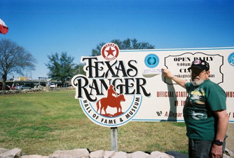 Texas Ranager Hall of Fame