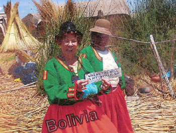 Women in Bolivia