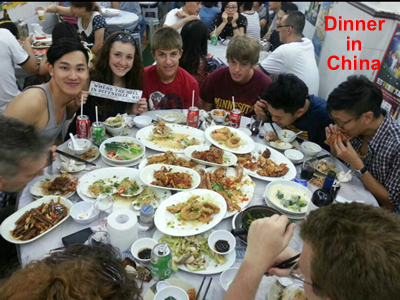 Dinner in China